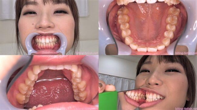 八乃つばさの歯フェチ画像