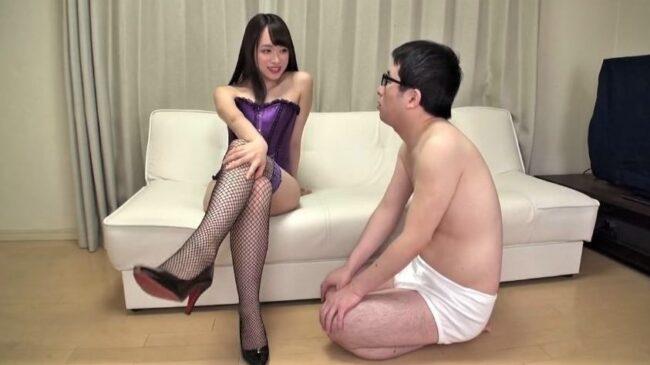 桐山結羽と唾フェチ男