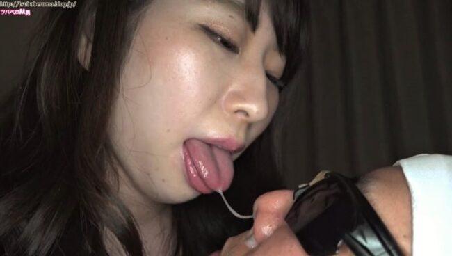 宝田もなみの鼻舐め